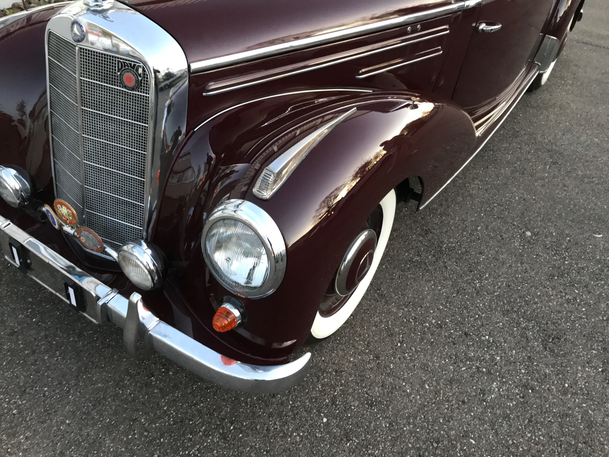 MERCEDES 220 A  CABRIO (TYPE 187) 1953 LIKE NEW